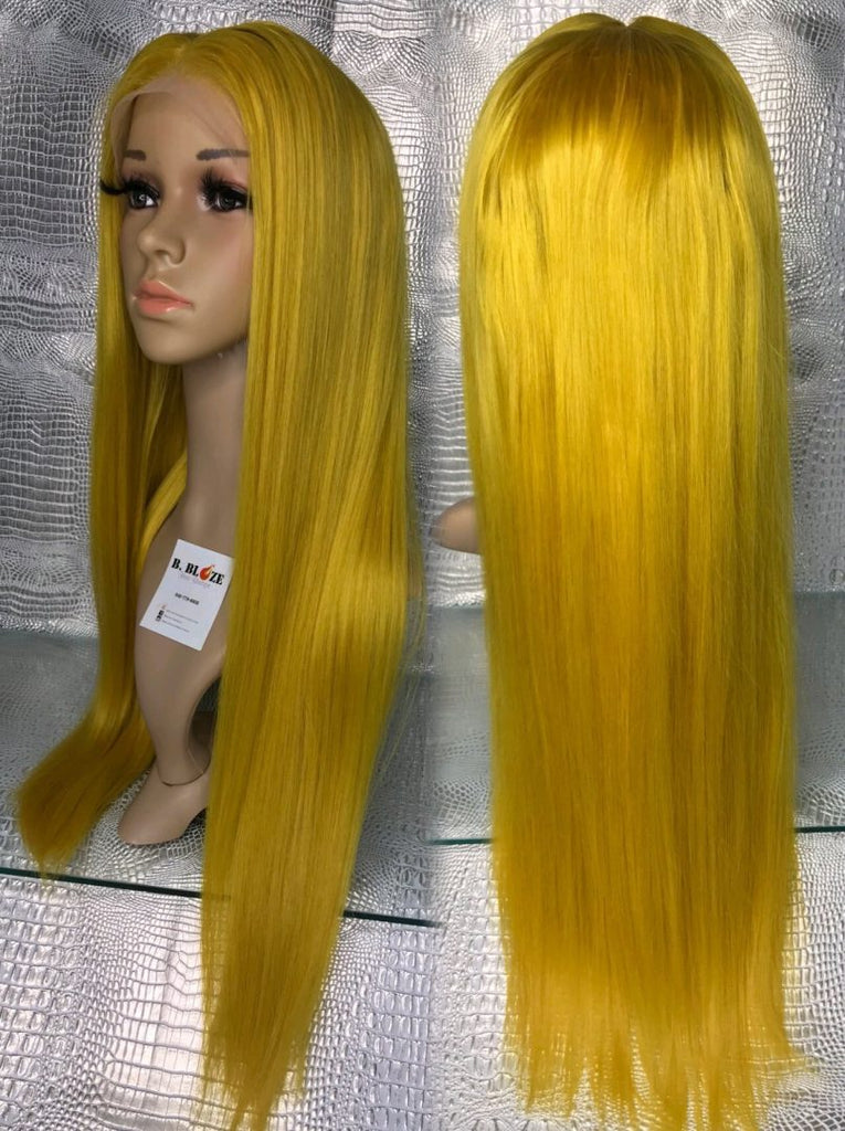 Mustard Yellow Lace Wig