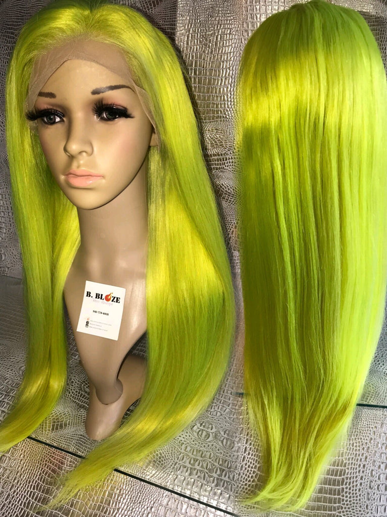 Neon Lace Wig