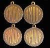 Amour charms in brass