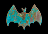 Bat, Solid Brass Stamping