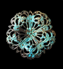 Dapt Filigree With Verdigris