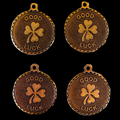 Good Luck Brass Charms