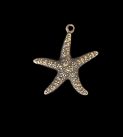 Star Fish Charm, Two Sided