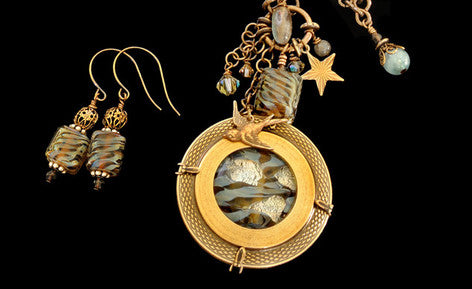 Victorian and Brass Necklaces