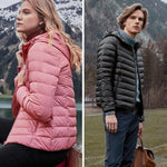 Ultra-Light Packable Down Jacket for MEN and WOMEN-Early Autumn promotion