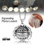 Expanding Photo Pendant-Mother's Day Valentine Birthday Gift