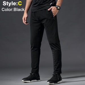Men Sport Elastic Quick-Drying Pants