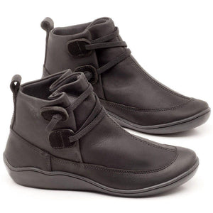 Comfortable flat-bottomed Arch Support lace-up boots-ADD To Cart 5% OFF The Last Day