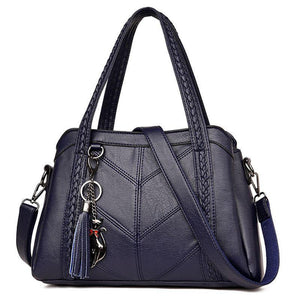 Women Casual Tote Leather HandBag