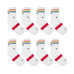 Womens Crew Sock 8 Multipack
