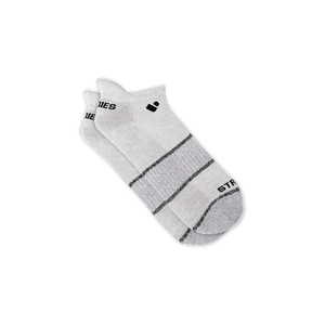 Womens Light Grey Active Ankle Sock