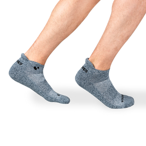 Mens Grey Active Ankle sock