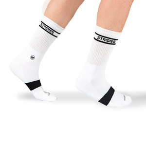 Mens White Soft Cotton Crew Sock 8 Multipack