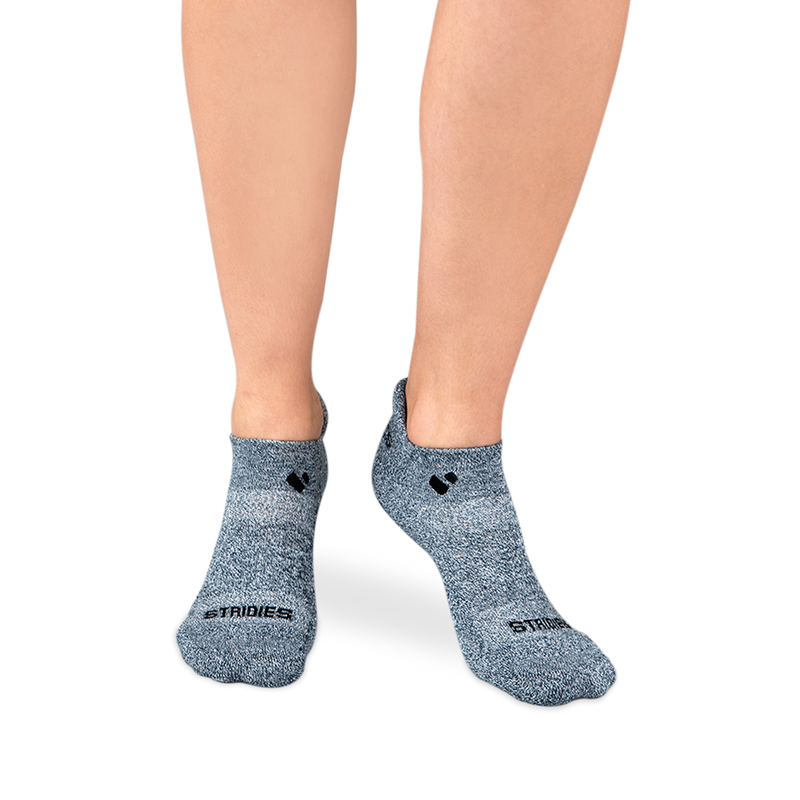 Womens Grey Active Ankle sock
