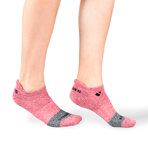 Womens Red Active Ankle Sock