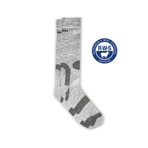 Mens Grey Hiking Socks