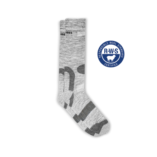 Womens Grey Hiking Socks
