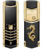Vertu Signature Gold Dragon Phone