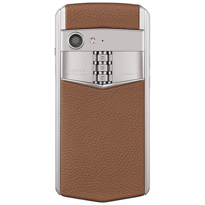 Vertu Aster P Caramel Brown Mobile