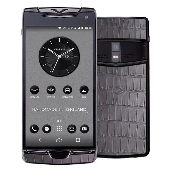 Vertu Constellation X Grey Alligator Mobile
