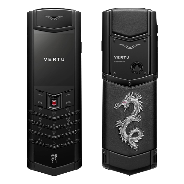 Vertu Signature S full black Dragon Mobile