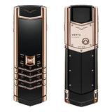 Vertu Signature Red Gold Black Ceramic Mobile