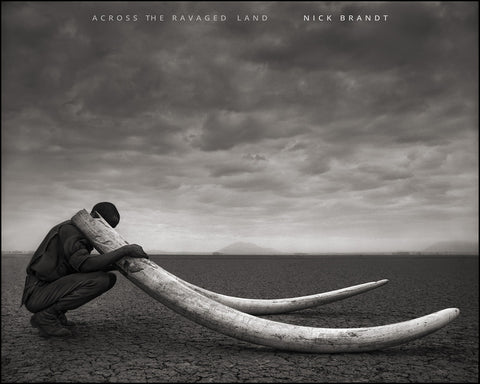 Across the Ravaged Land, signed and dedicated copy by Nick Brandt