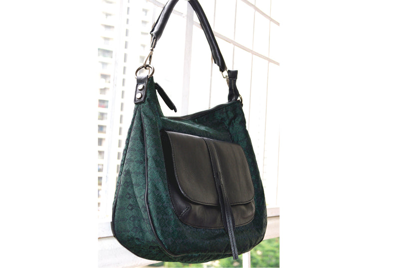 Ladies Handbag with genuine leather