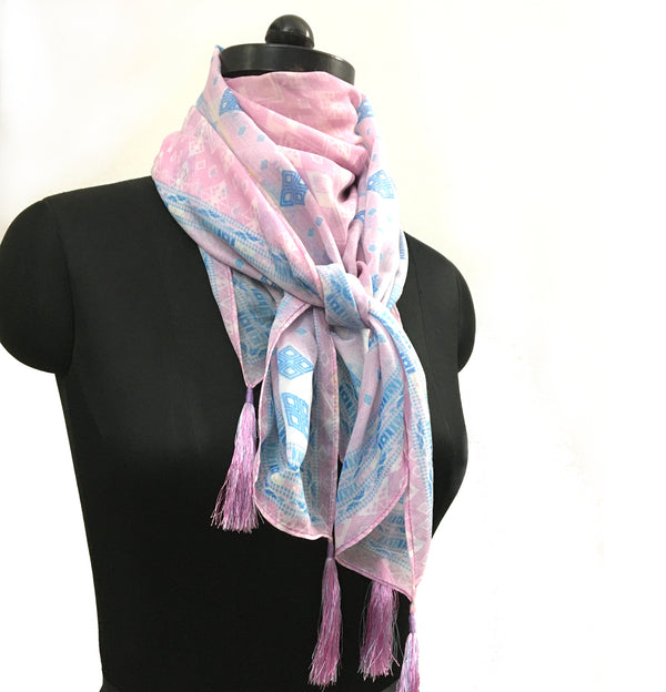 DIGITAL PRINTED HANDKERCHIEF SCARF