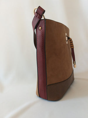 Brown handbag - Medium size