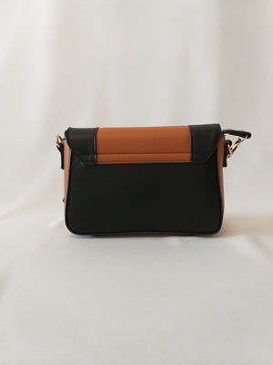 Brown/Black Handbag