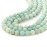 Amazonite Gemstone Beaded Necklace
