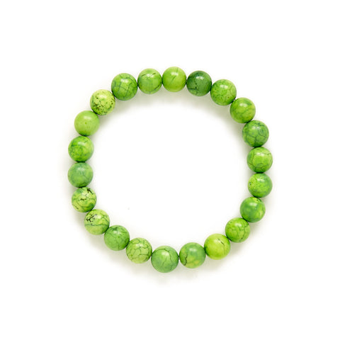 Lime Green Stretch Bracelet