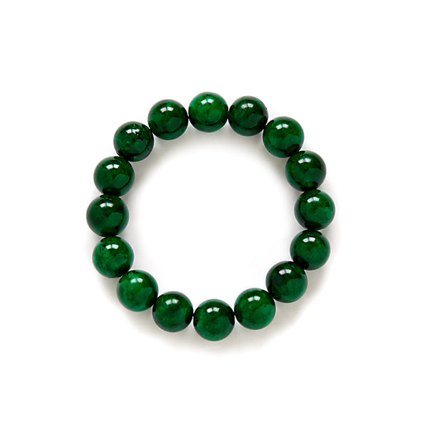 Jungle Green Beaded Bracelet