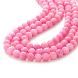 Chunky Beaded Pink Necklace