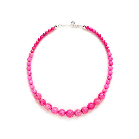 Tickled Pink Necklace in Rose Magnesite