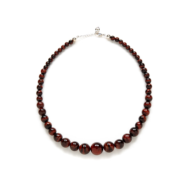 Petite Chestnut Necklace in Tiger's Eye