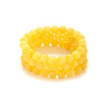 Bright Yellow Bracelet Stack