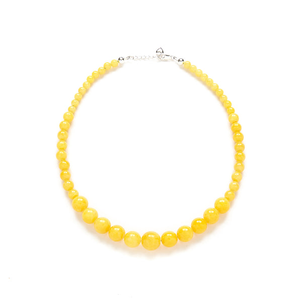 Mustard Yellow Bridesmaid Necklace