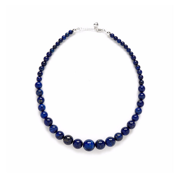 Petite Starry Night Necklace in Navy Lapis Lazuli