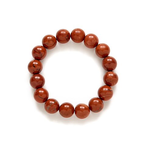 Burnt Terracotta Red Bracelet at Kluster Shop