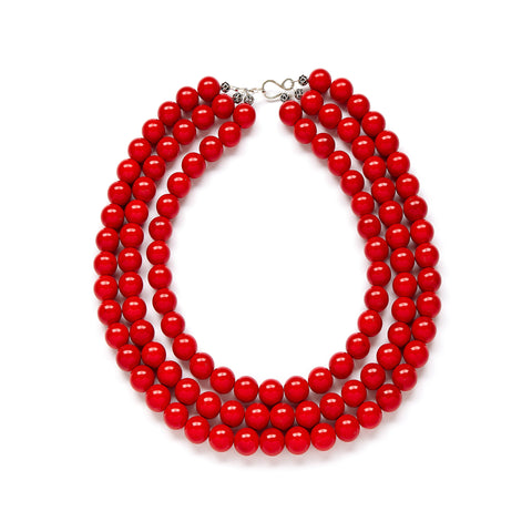 Red Holiday Necklace