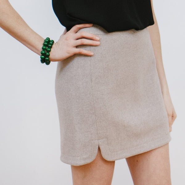 J.Crew Wool Skirt Dark Green Bracelet