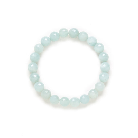 Petite Amazonite Bracelet in Sky Blue