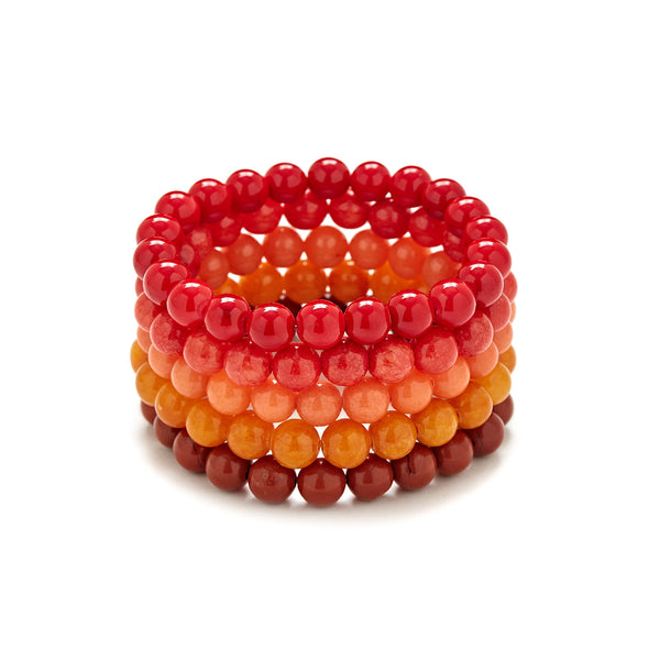 Happy Harvest Bracelet Stack
