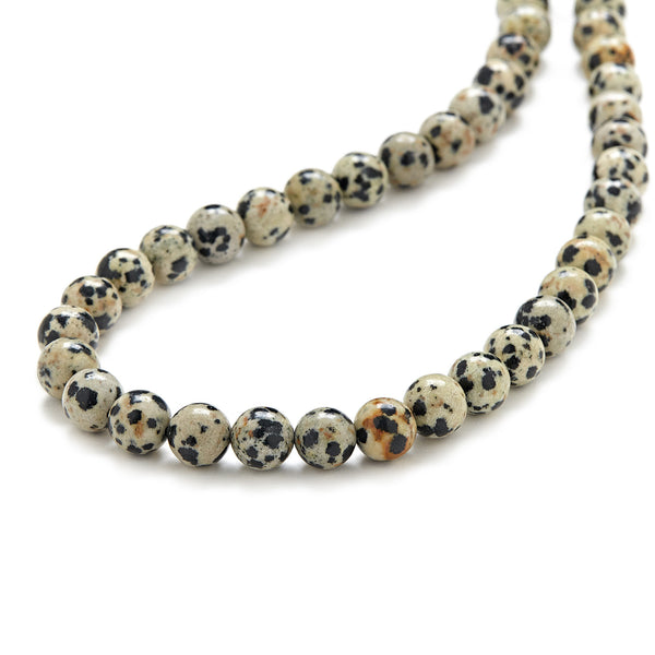 Mini Spotted Leopard Necklace in Jasper