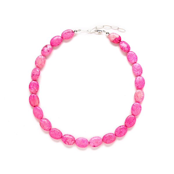 Pink Statement Necklace at Kluster Shop
