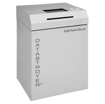 Datastroyer 208 Solid State Multimedia / Paper Shredder Shredders Datastroyer
