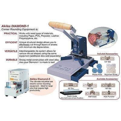 Akiles Diamond-5 Corner Rounding Machine