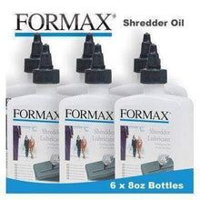 Load image into Gallery viewer, Formax High Security Paper Shredder Oil (6 x 8oz. Bottles) (Discontinued) Supplies Formax